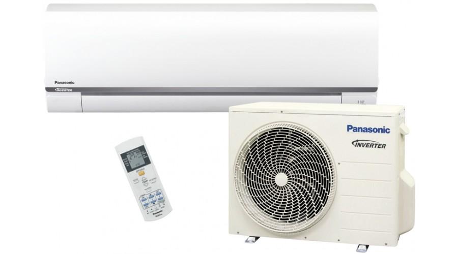 panasonic klimaanlage 3 5kw cs ue12rke inverter w rmepumpe klimager t. Black Bedroom Furniture Sets. Home Design Ideas