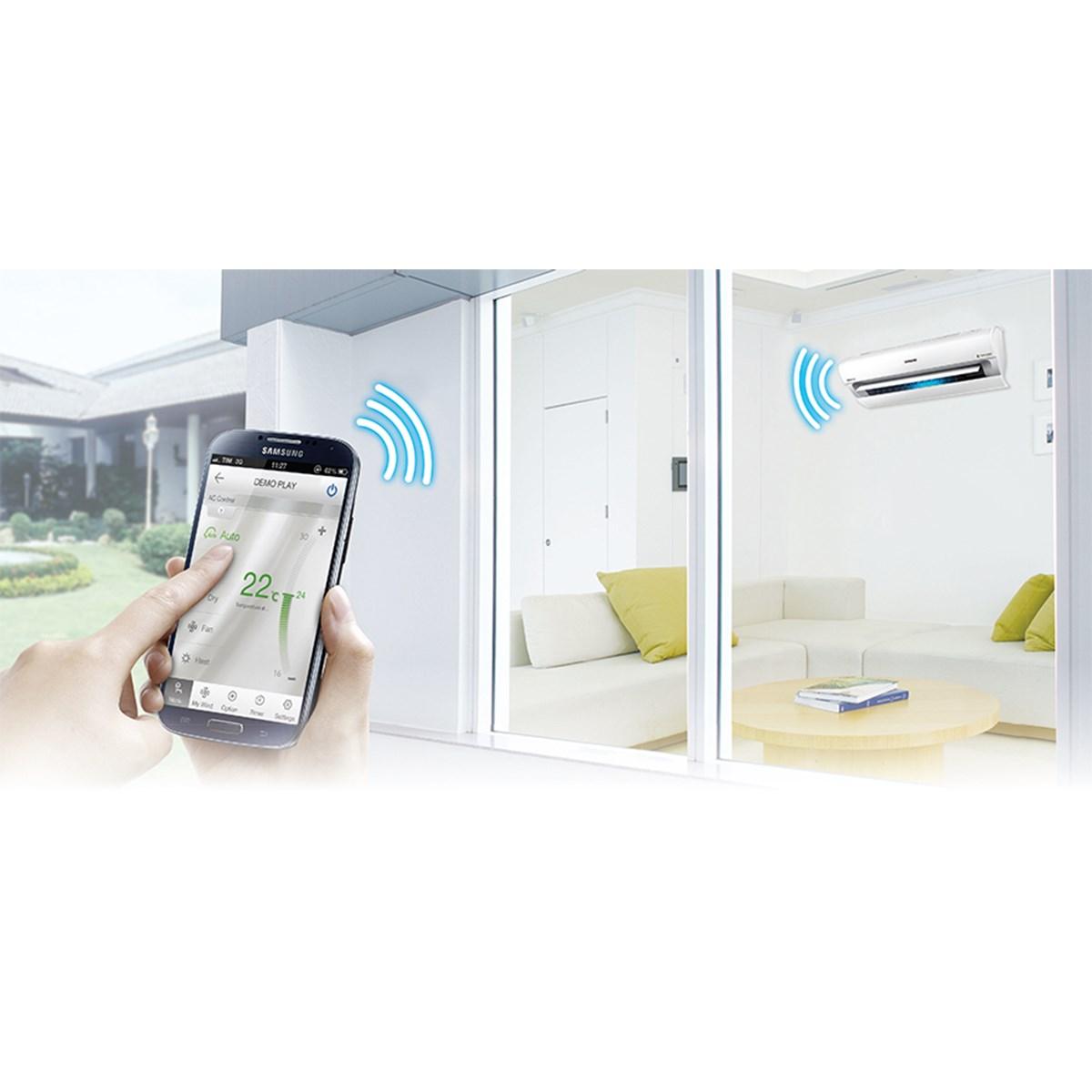 Samsung classic 2 5kw klimaanlage inverter w rmepumpe - Swing condizionatore ...